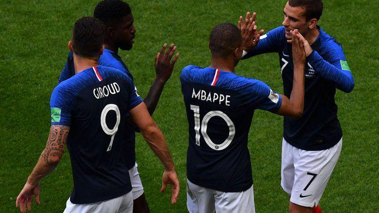 Argentina perdió 4 a 3 contra Francia y quedó afuera del Mundial de Rusia 2018