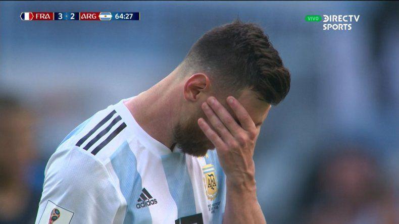 Eliminados: Argentina perdió con Francia