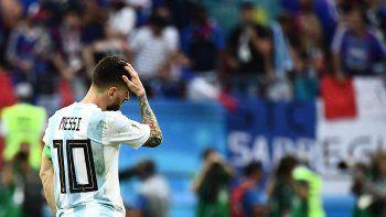 Eliminados: Argentina perdió con Francia y quedó afuera del Mundial de Rusia 2018