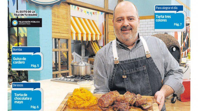 Cocineros Argentinos te enseña a hacer arrollados para todos los gustos