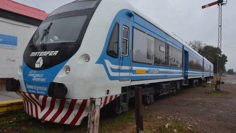 Por problemas mecánicos, no funciona el Tren del Valle