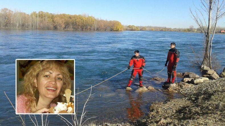 Confirmaron que el cuerpo hallado en el Limay es Claudia Chandías, la mujer desaparecida en Neuquén