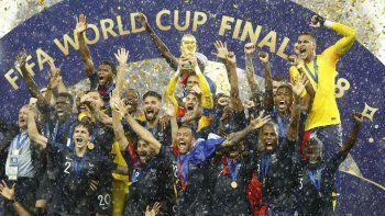 Así fue la coronación de Francia en el Mundial
