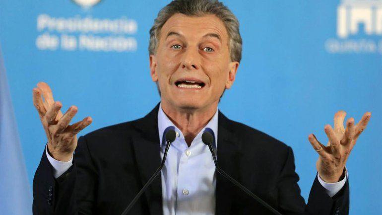 Macri dijo que el objetivo del gobierno es bajar la inflación