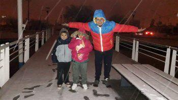 Cayó una intensa nevada en el Alto Valle y alrededores