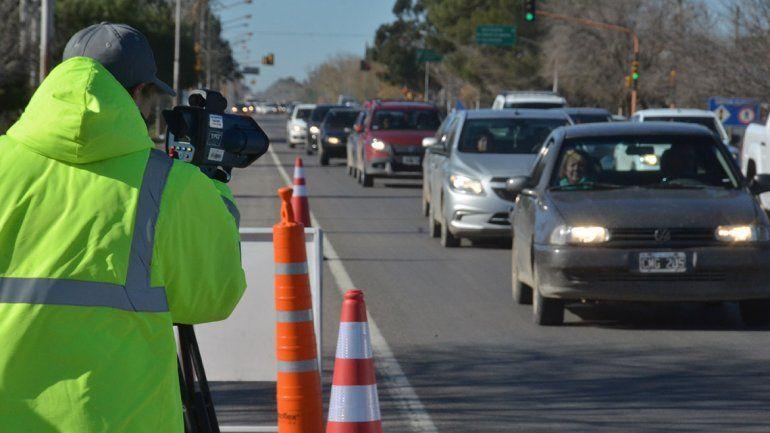 Radares en la 22: en una semana arrancan con las multas en Neuquén