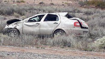 Una nena de once años murió en un accidente sobre la Ruta 151
