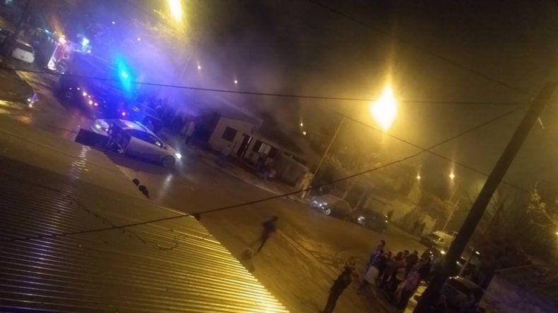 Tensión: incendiaron la casa de un presunto violador
