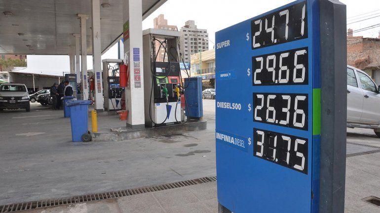 YPF aumentó la nafta por segunda vez en la semana