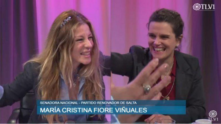Gisela Barreto festejó en su programa el rechazo al aborto