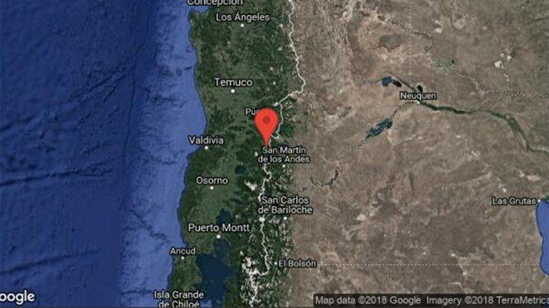 Un sismo en La Araucanía chilena se sintió en San Martín de los Andes