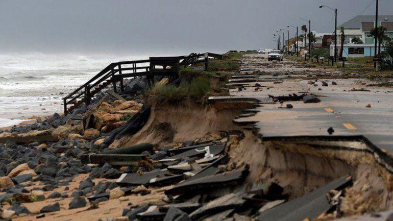 Huracán Florence: las primeras imágenes del desastre en USA