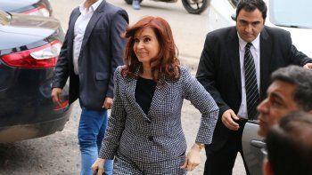 Cristina fue a Tribunales en la causa conocida como la ruta del dinero K.
