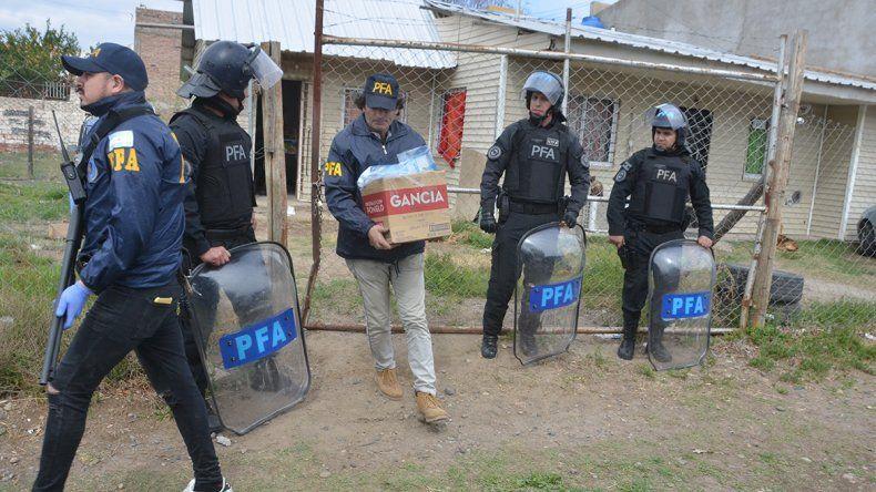 Red narco tenía acopiados casi 9 kilos de cocaína en un barrio de Neuquén
