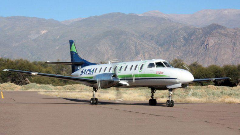 Dieron aval a Sapsa para operar rutas a Neuquén y Bariloche
