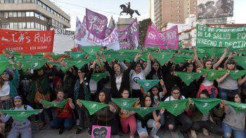 Marcharon en en Neuquén por el aborto legal