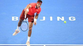 La gripe no lo ayudó y Delpo perdió la final del ATP 500 de Beijing
