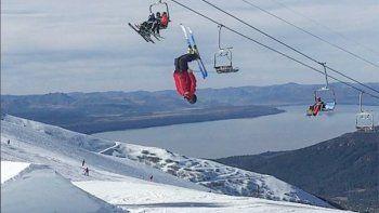 murio un esquiador de bariloche en un entrenamiento en la hoya