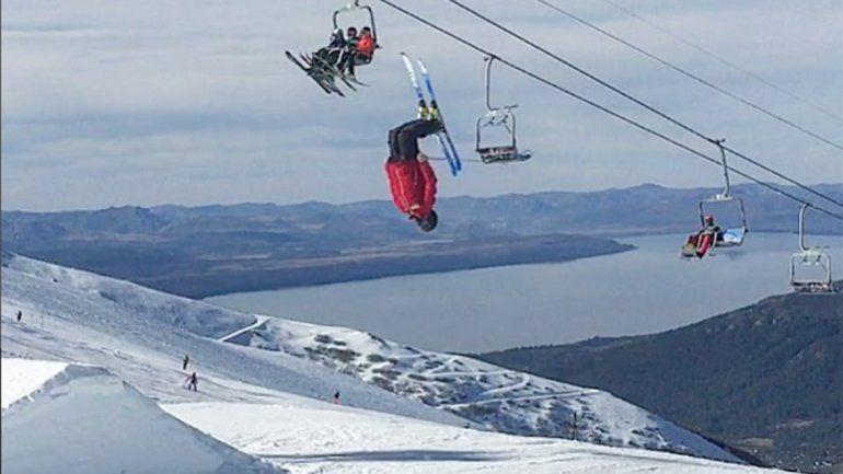 Murió un joven esquiador de Bariloche en un entrenamiento en La Hoya