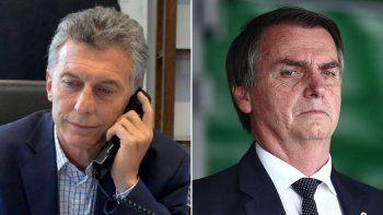 Macri recibió un llamado de Bolsonaro previo al balotaje en Brasil