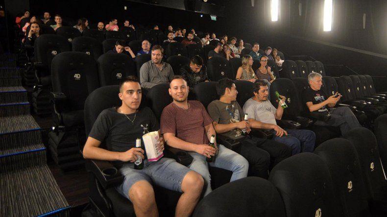 Sala 4D de cines Village.