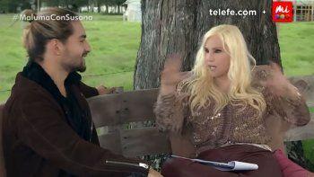 maluma no esquivo las balas de susana en una entrevista picante