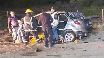 tres personas murieron calcinadas en un brutal accidente en cutral co