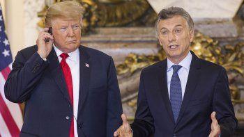 Macri recibió a Trump: halagos
