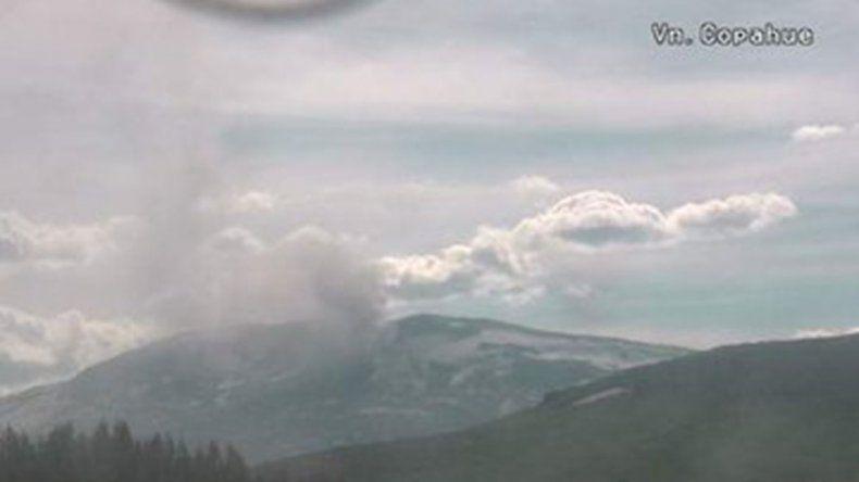 Se registraron 14 movimientos sísmicos en el Volcán Copahue desde el domingo