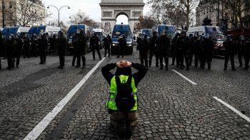 Más de 1.000 detenidos por las protestas de chalecos amarillos