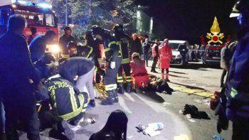 Tragedia en boliche: una estampida dejó 6 muertos