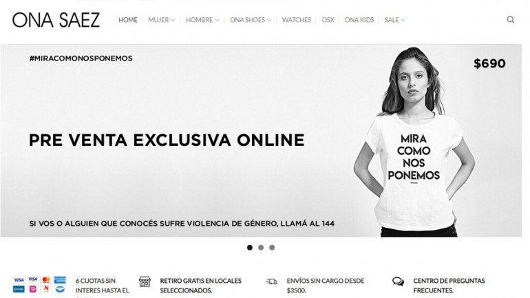 """¿Oportunismo? Una marca lanzó a la venta una remera con la frase """"Mirá como nos ponemos"""""""
