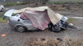 Ruta 7: dos muertos y dos heridos graves en un choque cerca de San Patricio del Chañar