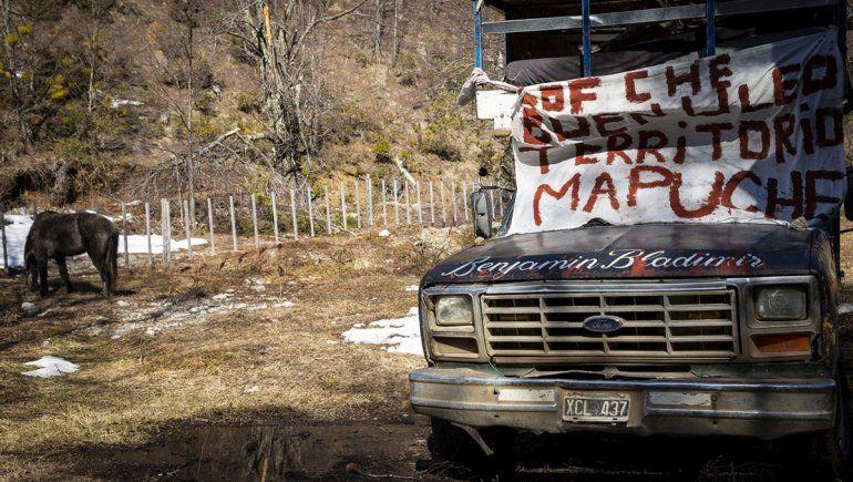 Tensión en Bariloche por ocupación mapuche en un lote