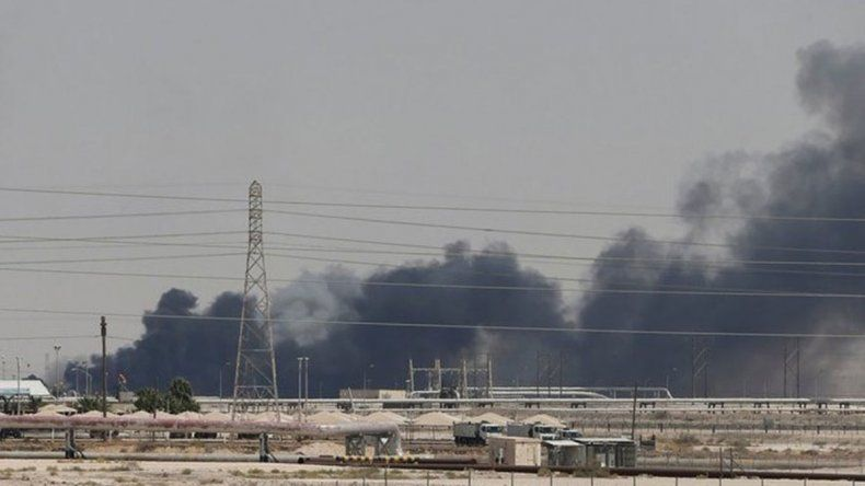 El precio internacional del petróleo se dispara tras el ataque en Arabia Saudita
