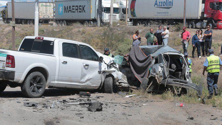 Centenario: un hombre murió en un triple choque en Ruta 7
