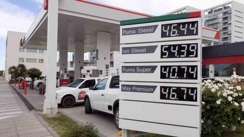 Tras el aumento, ¿cuánto cuesta la nafta?