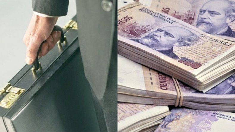 Un periodista neuquino encontró casi medio millón en un maletín y lo devolvió