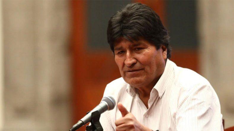Evo Morales ofreció regresar a Bolivia para aportar con mi presencia a la solución pacífica