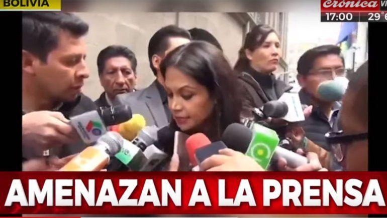 Cancillería emitió un comunicado por las amenazas a periodistas