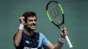 Pella despertó a tiempo y avanza en Roland Garros