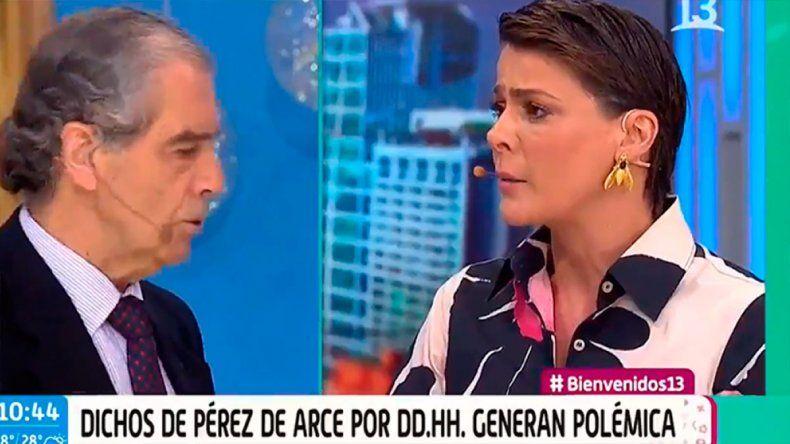 Escándalo en la tevé chilena: echaron en vivo a un invitado que defendía la dictadura de Pinochet