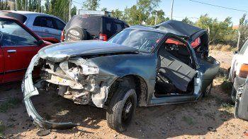 El joven cipoleño chocó a más de 100 kilómetros por hora al policía