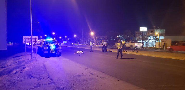 Ciclista fue atropellado en la Ruta 22 y murió