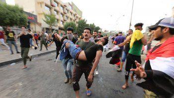 Irak: dos muertos en una protesta contra EE.UU.
