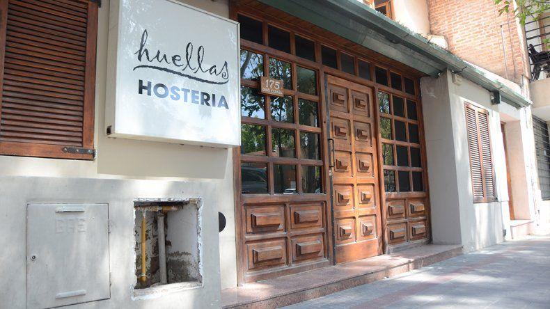 En este hostel se produjo el robo al turista