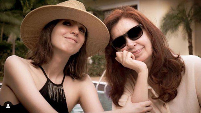 Cristina publicó la primera foto de su hija Florencia desde su internación en Cuba