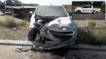 Creyó que seguía la Autovía y se salvó al evitar un choque frontal