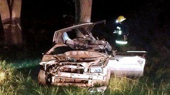 Chocó auto en el que viajaba su familia y murió la sobrina