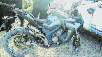 La moto robada en Cipolletti fue restituida a su propietario.